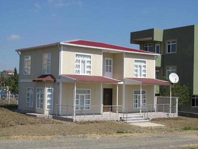 Prefabrik ev prefabrik konut prefabrik evlerin fiyatlar for Pavillon moderne construction